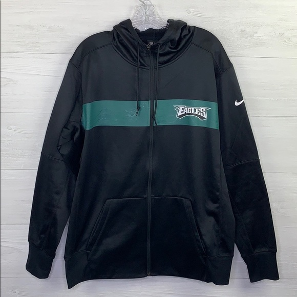newest d9993 f4966 Nike | NFL Eagles Zip Up Hoodie
